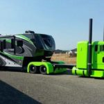 Custom semi and trailer