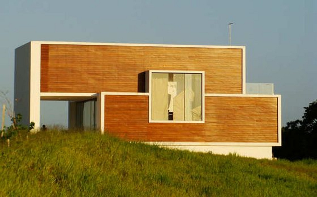 Simple and stylish design for shipping container buildings newsstandard - Simple shipping container homes ...