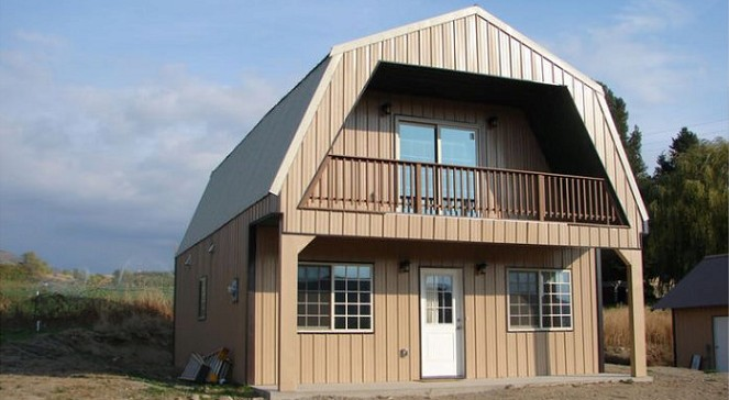 Steel Frame Gambrel Homes Starting from $19,950