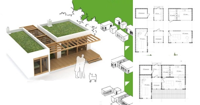 Sustainable home design winners for this house for Sustainable homes design